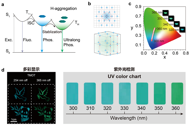 Colour-tunable Ultra-long Organic Phosphorescence of a Single-component Molecular Crystal (Nature Photonicsvolume 13, pages406–411 (2019))